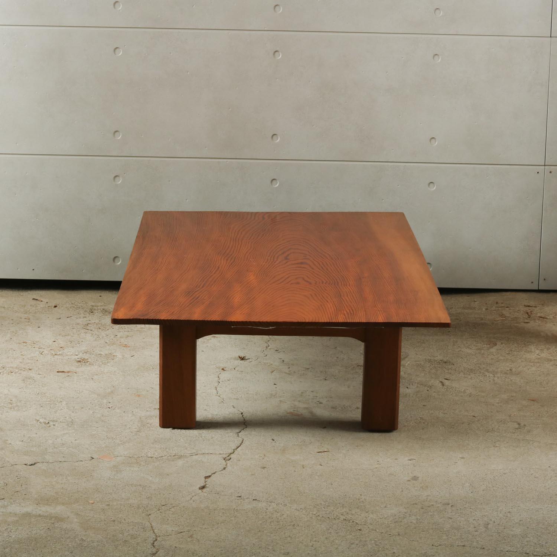 12-001 松(マツ)テーブル 大蔵木材株式会社(東京都江東区)