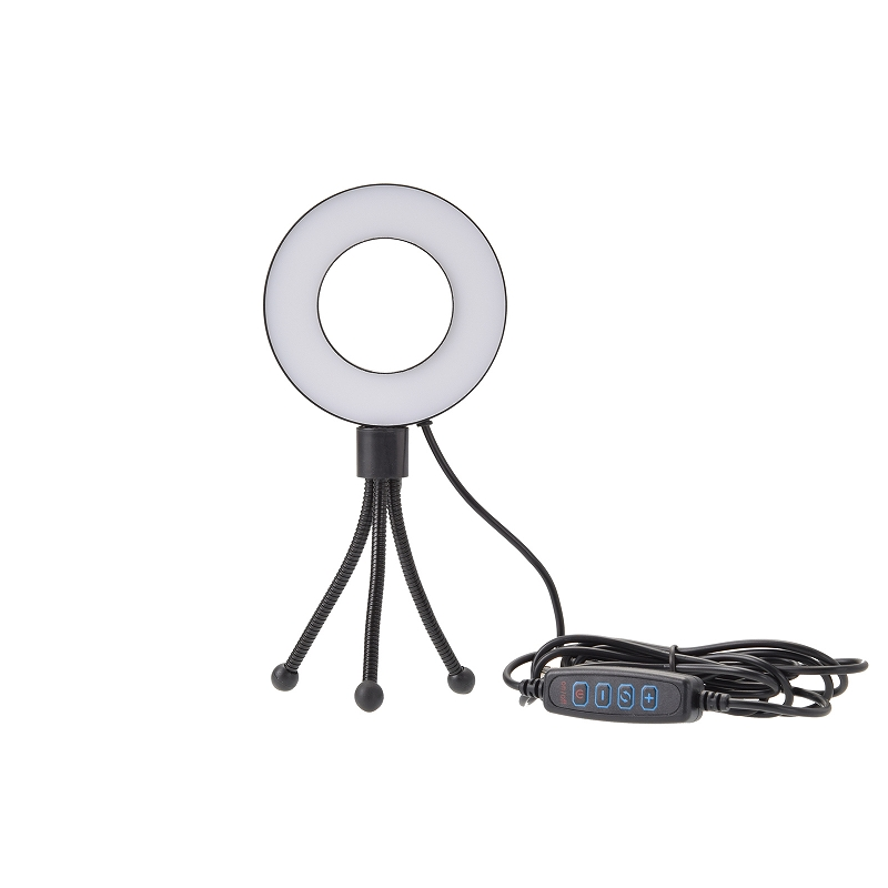 VLOG LEDリングライト&ミニ三脚
