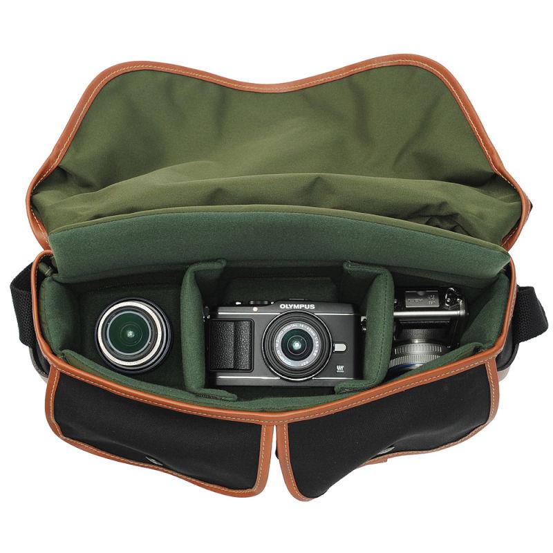 ビリンガム ハドレープロ /Hadley Pro ブラック/タン カメラバッグ /Billngham