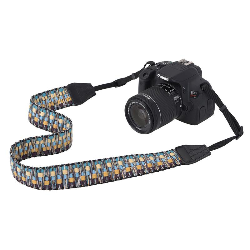 ゲバルト カメラストラップ ビビッドシャギー (5色) /Gevaert