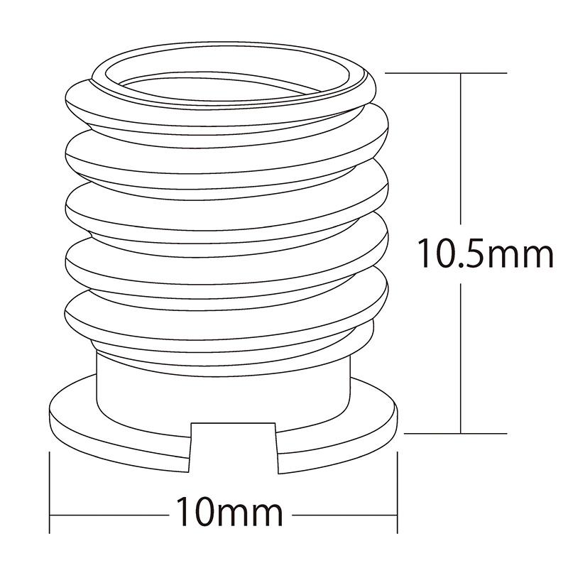 エツミ 止ネジアダプターII (3サイズ)
