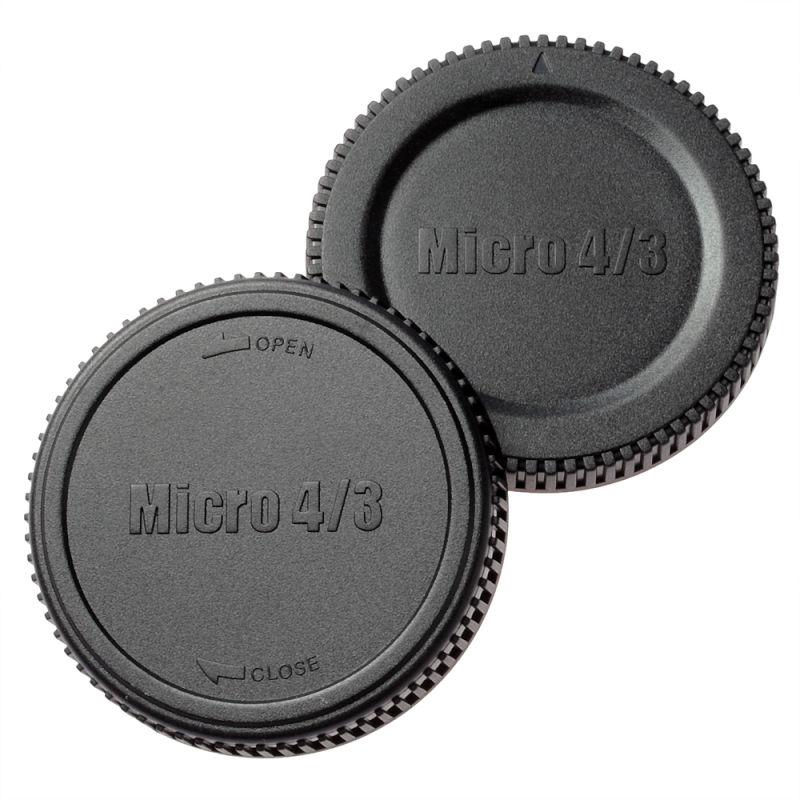 エツミ マイクロフォーサーズ用ボディー&リアーキャップ (3種)