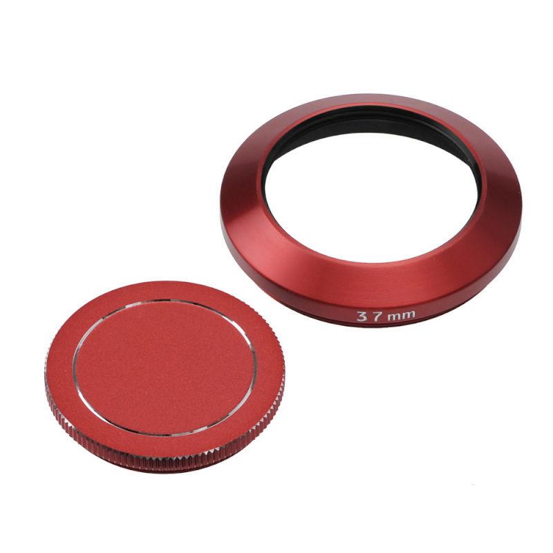 エツミ メタルインナーフード+キャップセット 37mm (2色)
