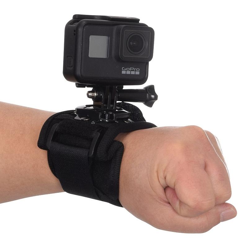 GoPro用アクションリストバンド
