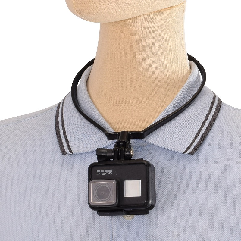 GoPro用ネックレスホルダー