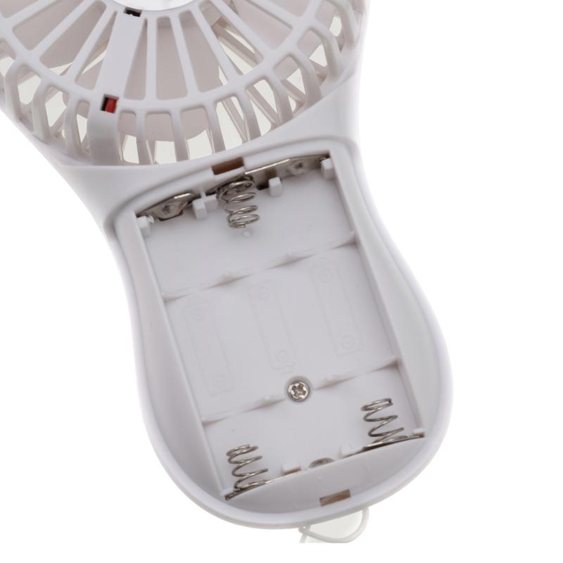 ミニ扇風機 電池式(2色)