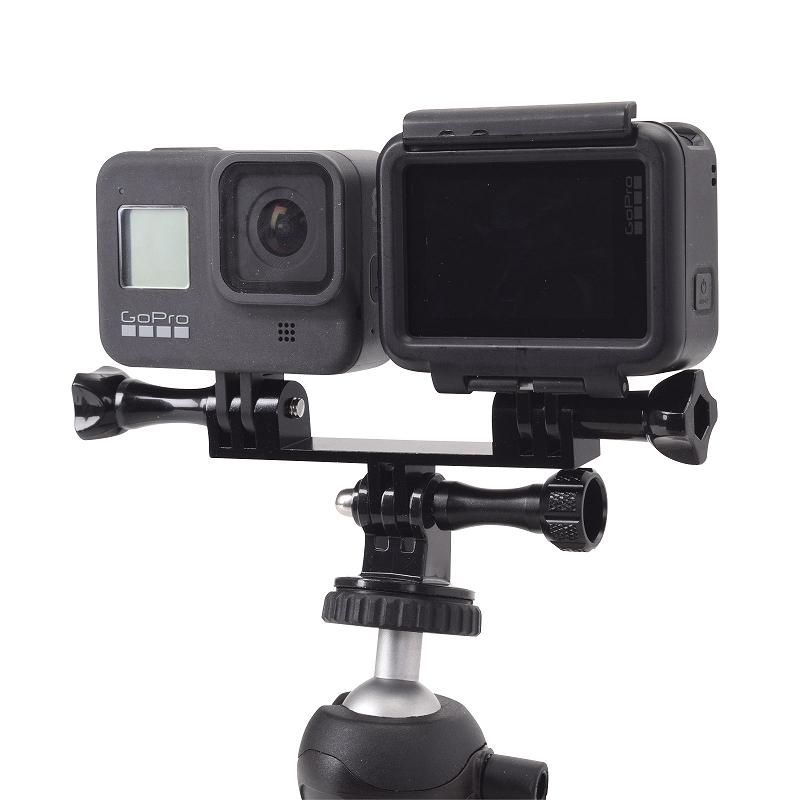 GoPro用アルミダブルブラケット