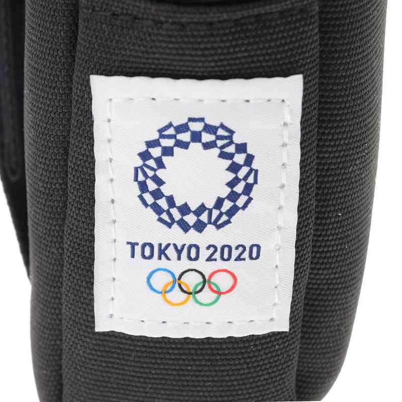 【東京2020オリンピック】カメラポーチC ブラック(東京2020オリンピックエンブレム)