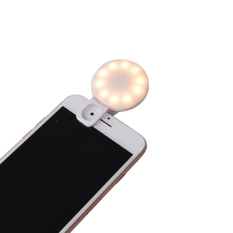 VLOG LEDクリップライト 3色(白・暖・Mix)