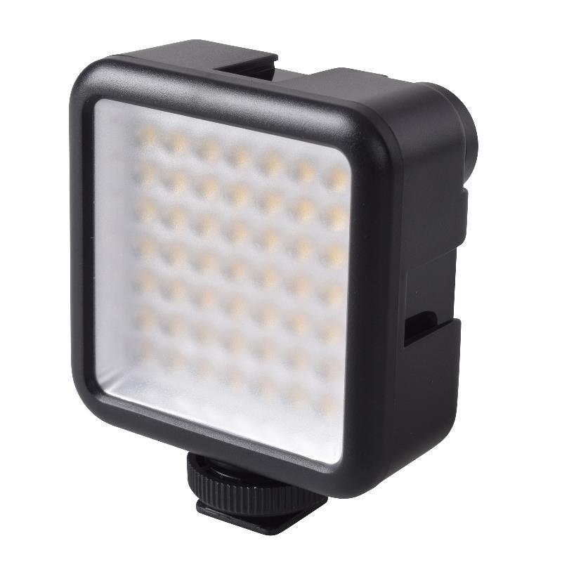 VLOG スターターキット γガンマ(ホルダー・LEDライト・Lブラケットマウント・マイク)