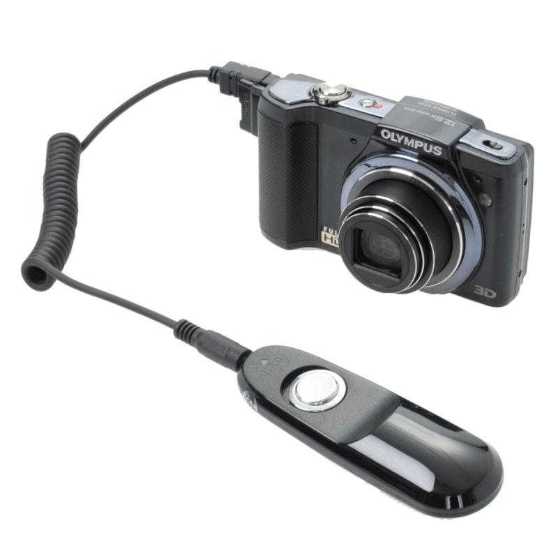 エツミ 電子リモートスイッチ3 O2 オリンパス マルチコネクタ対応 /カメラレリーズ