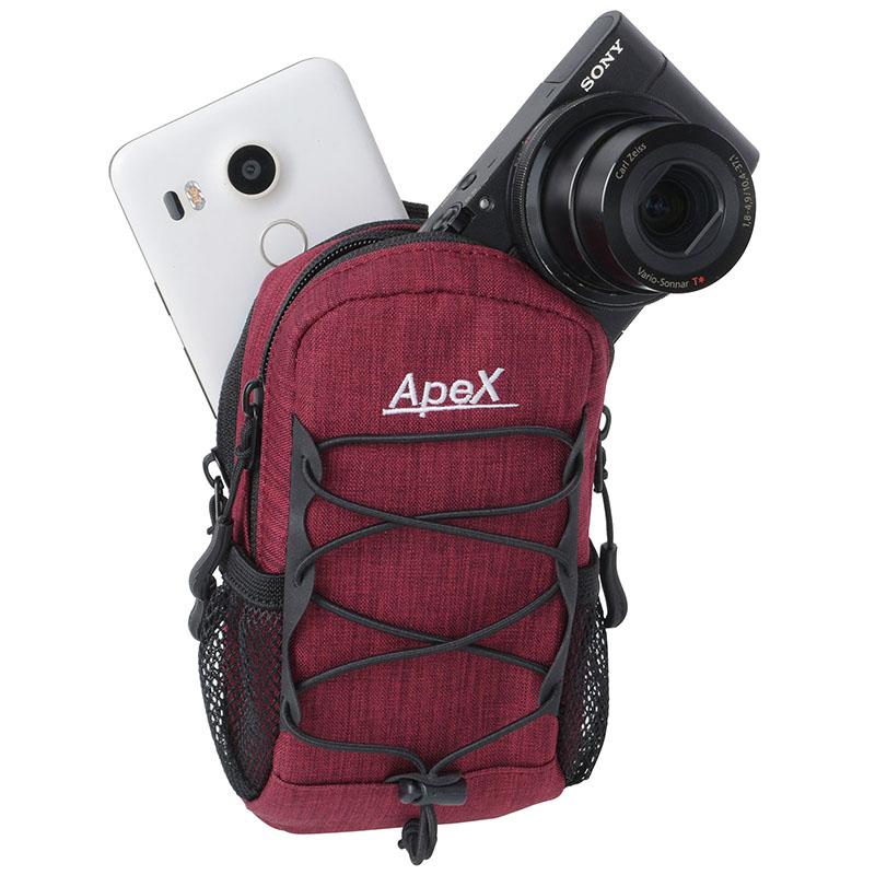 エツミ アペックスシューティングポーチB / コンパクトデジタルカメラケース (4色)