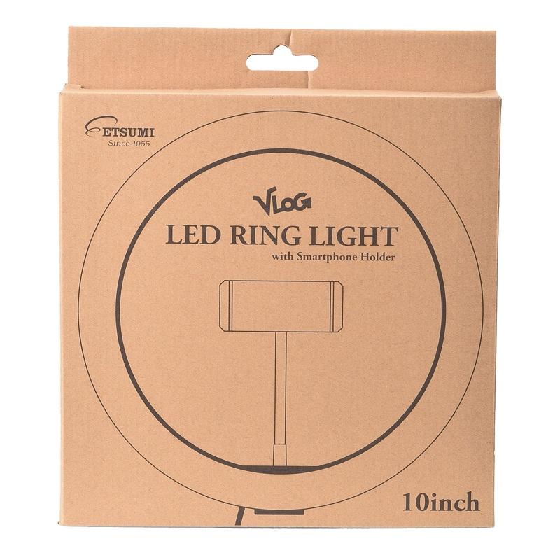 VLOG  LEDリングライト 10インチ