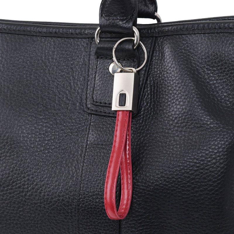 エツミ キーホルダーケーブルα マイクロUSB (2色)/ USB充電・通信ケーブル