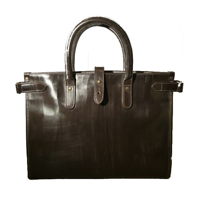 BRIDLE LEATHER TOTE BAG