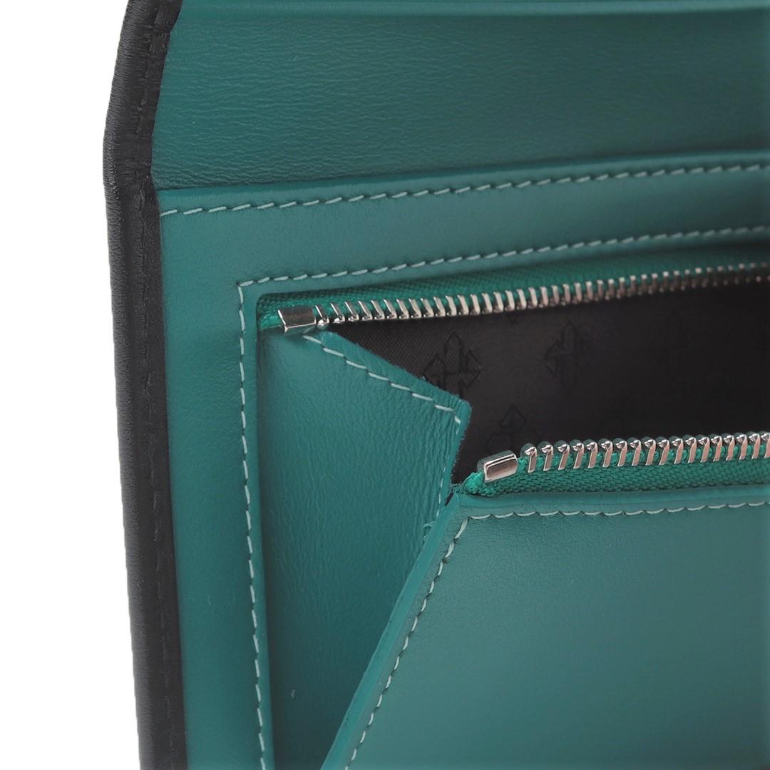 【ST】 LONG WALLET WITH ZIP TAB