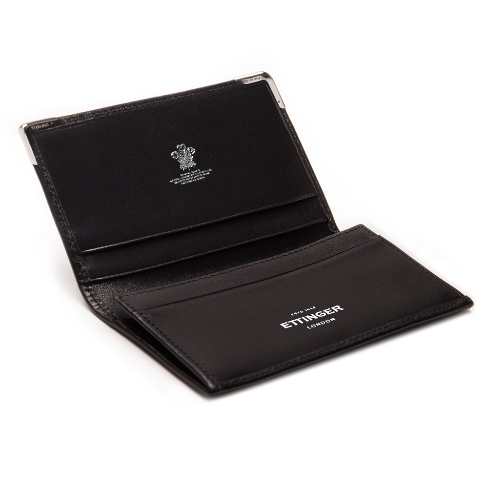 SILVER CORNERS VISITING CARD CASE