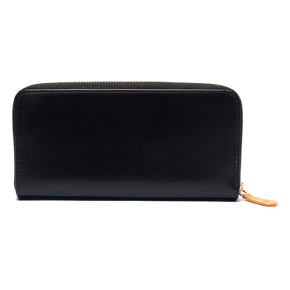 【BH】LARGE CURVED ZIP PURSE