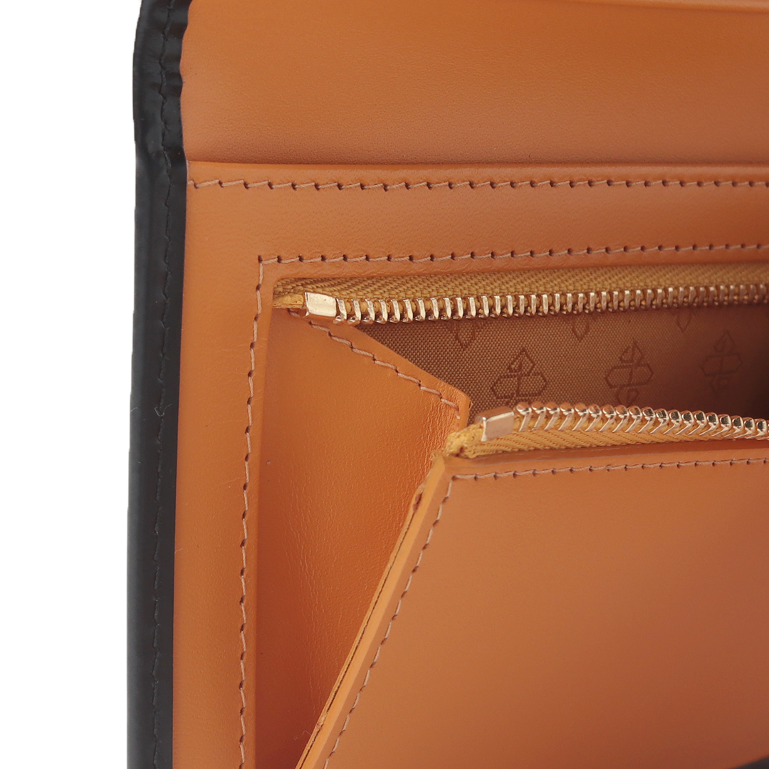 【BH】 LONG WALLET WITH ZIP