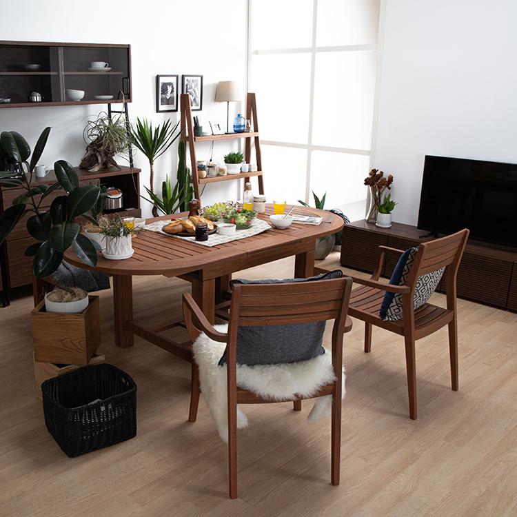 アウトドア家具 伸長式テーブル
