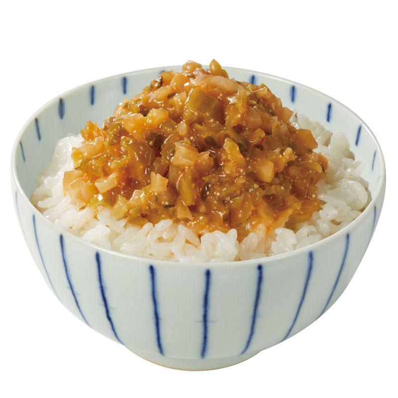 なちゅらる生活 明太子ピリ辛菜(化学調味料・合成着色料不使用)_s10