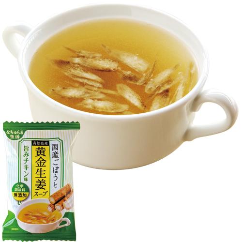 [ネコポスギフト]FD生姜のスープセット10個(ごぼう3、玉ねぎ3、きのこ2、人参2)(送料無料)_s10