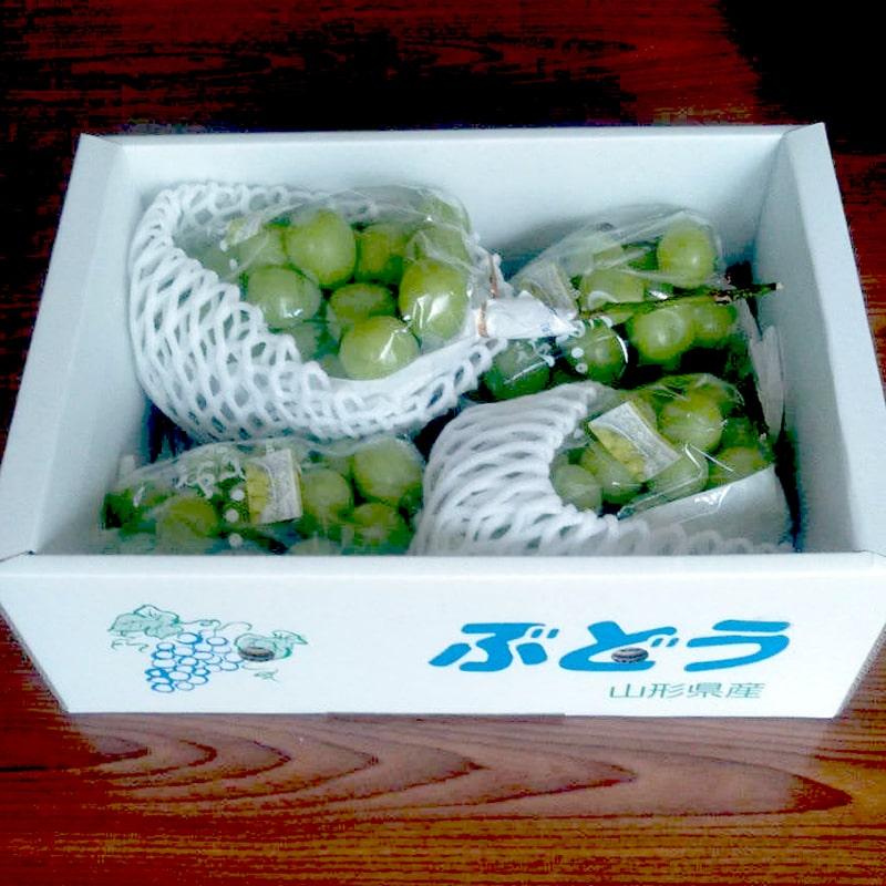 米沢郷のぶどう シャインマスカット2kg(送料無料)(山形産)(農薬減・化肥無)(クール)_s70