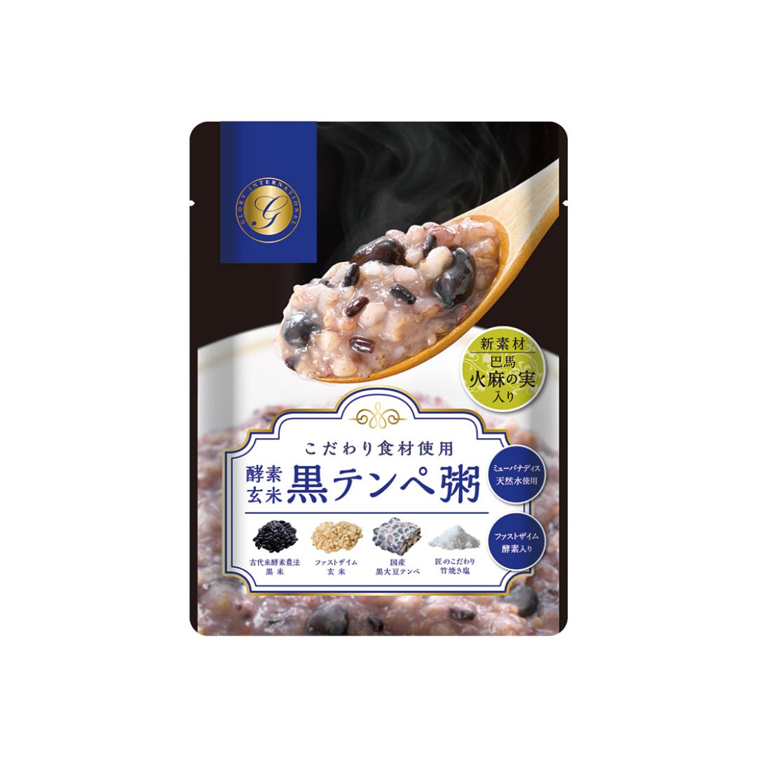 酵素玄米 黒テンペ粥(12袋セット)