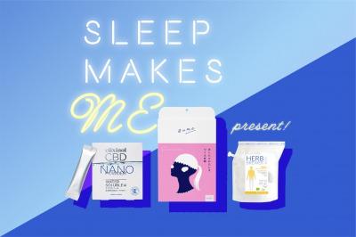 睡眠セットB(ネックフェイス、ナノパウダー、ハーブティー)