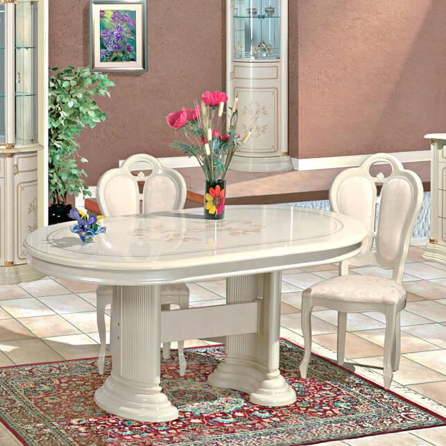 FLORENCE(フローレンス) ダイニングテーブル SFLI-519-IV