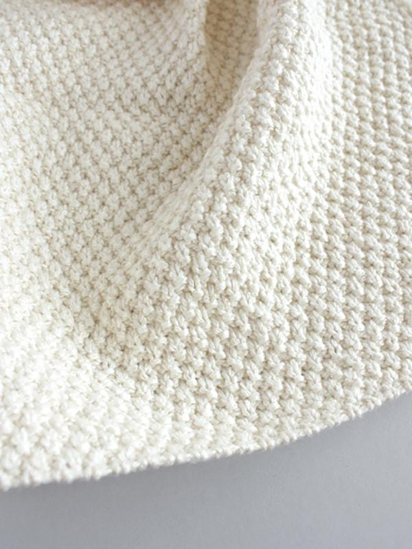 cotton bib + handkerchief