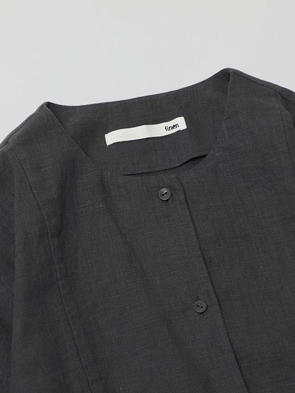 water linen shirts