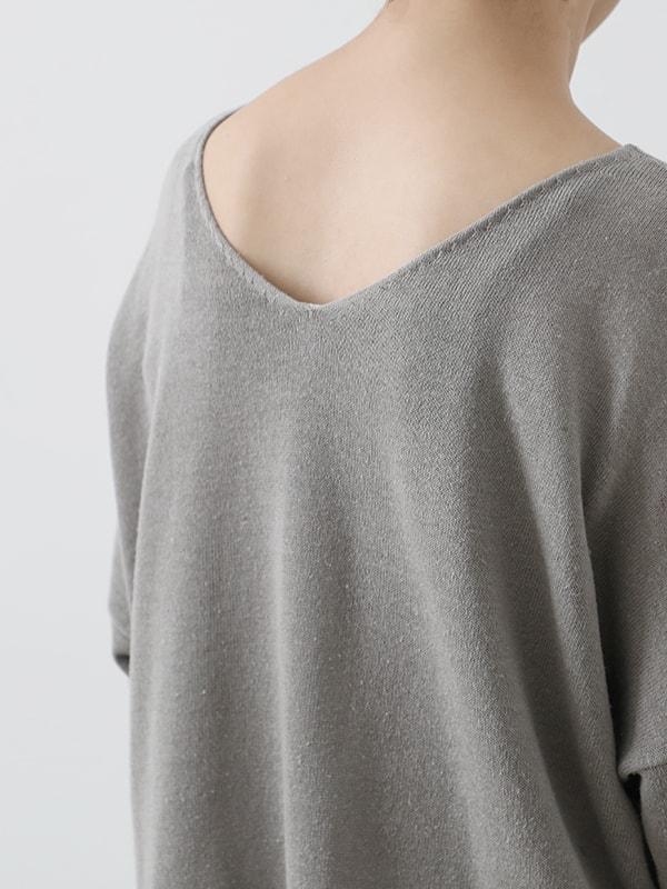 dry silk pullover