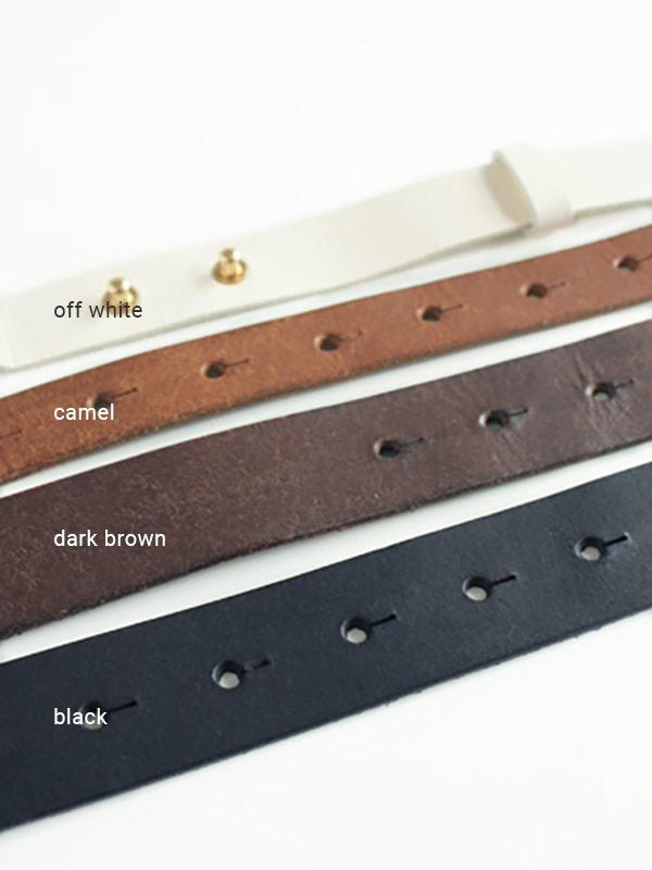 leather belt -20mm