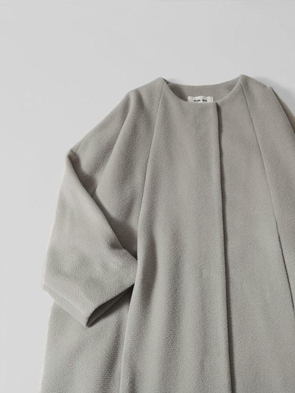 wool angora dolman coat