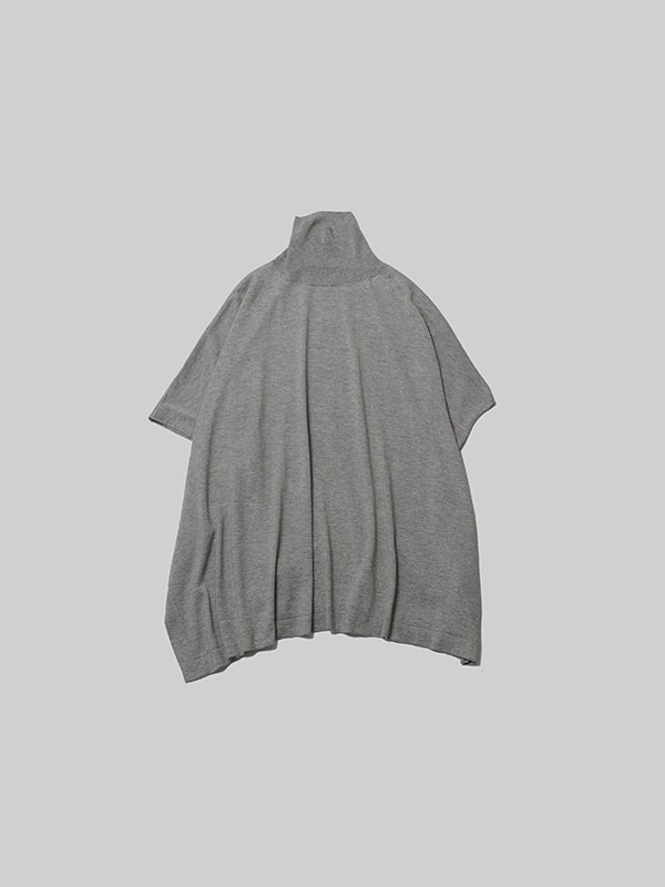 silk cashmere poncho