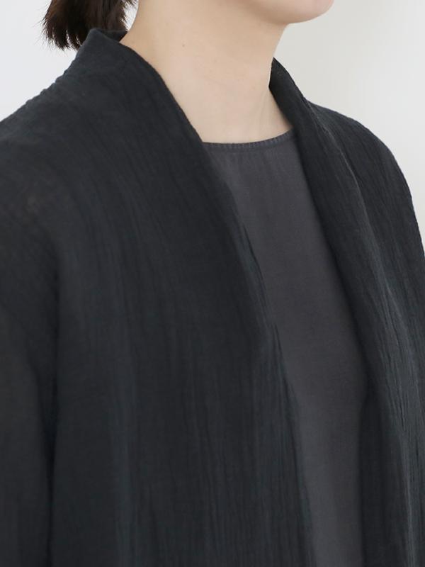 linen voile robe