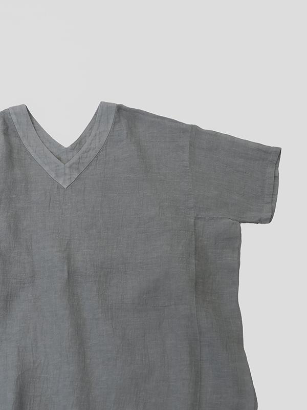 linen voile tunic