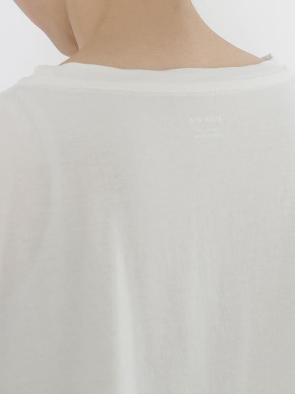 cut&sew short sleeve pullover