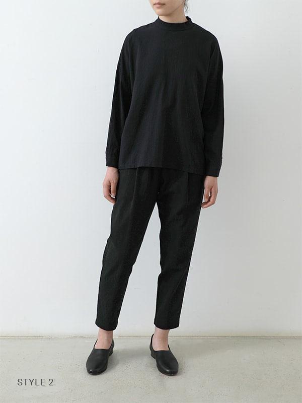 cotton silk easy pants