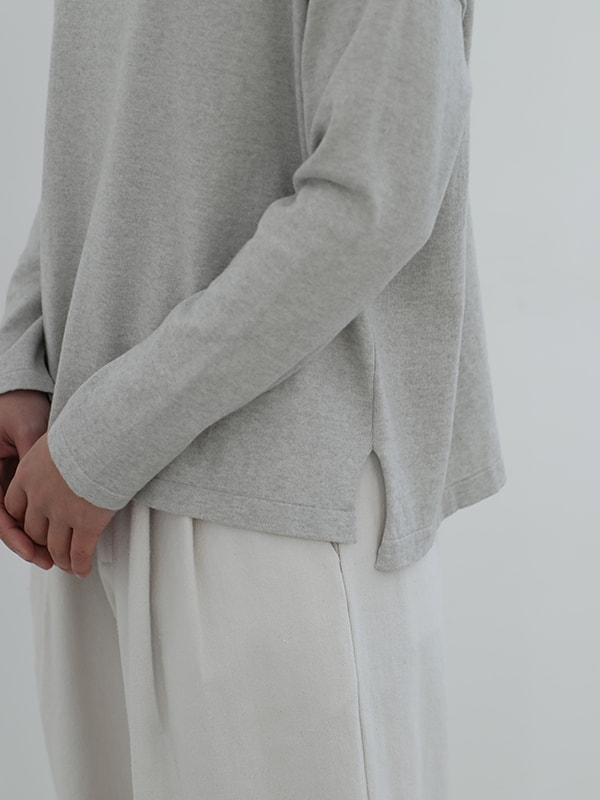 boat neck pullover