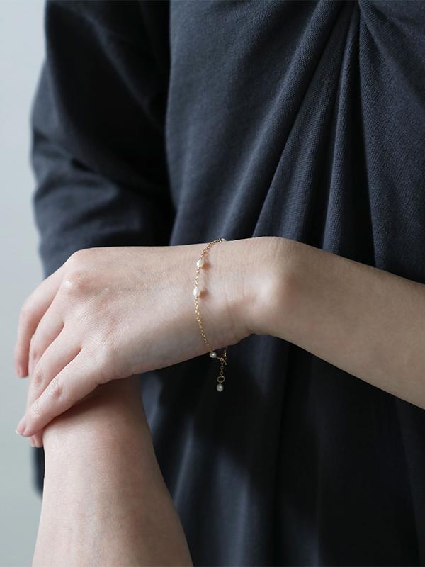 random rice pearl bracelet