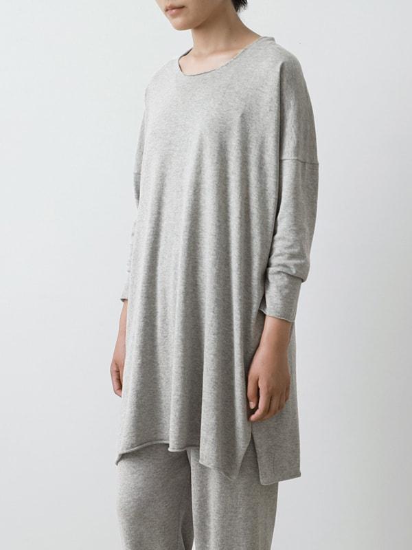 cotton silk tunic