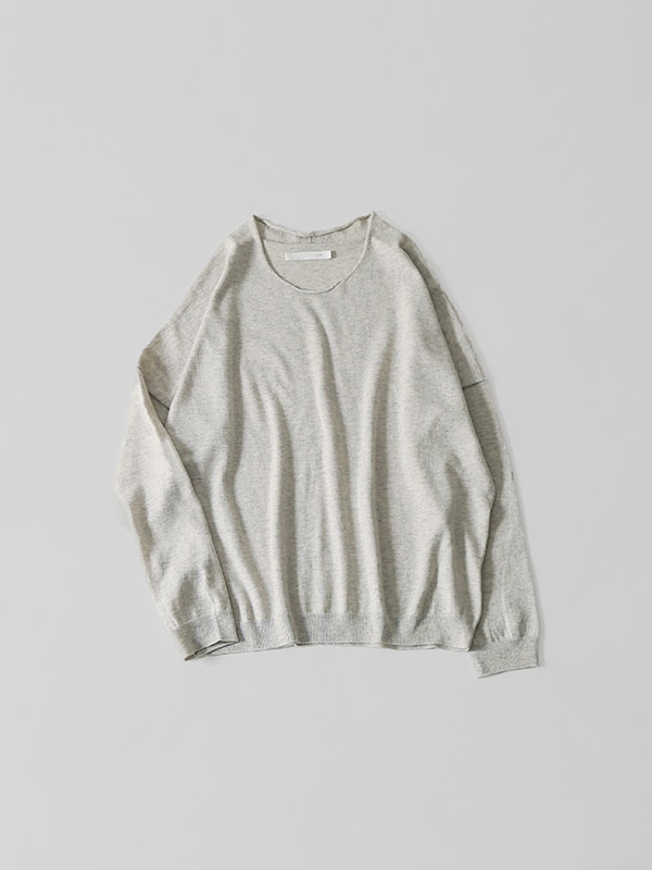 cotton silk pullover
