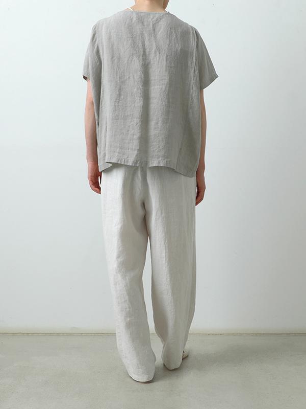 linen wide pants