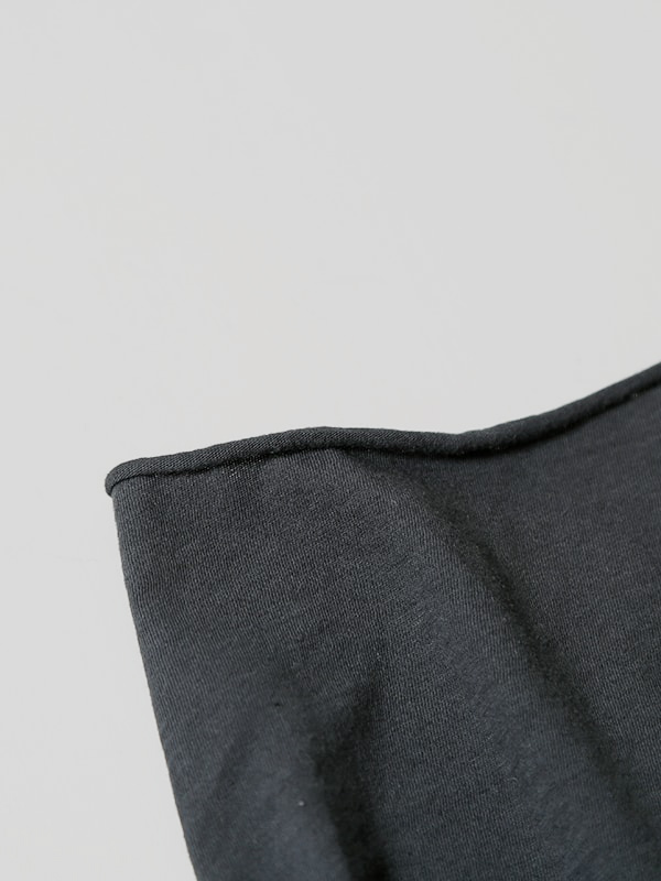 cotton cut&sew turtleneck pullover