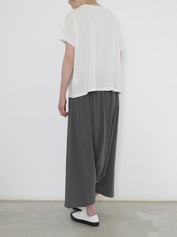 cotton double wrap sarrouel pants