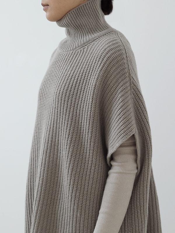 soft wool vest