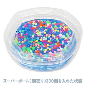 ビニール透明丸プール 内径60cm×深さ30cm