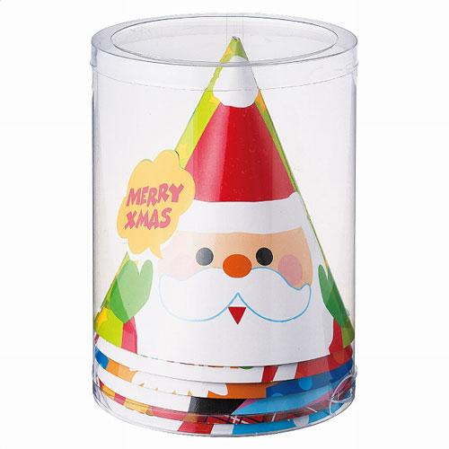 クリスマスペーパーハット(6個入り)